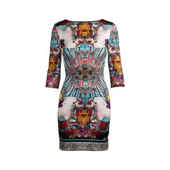 Baroque Printed Dress