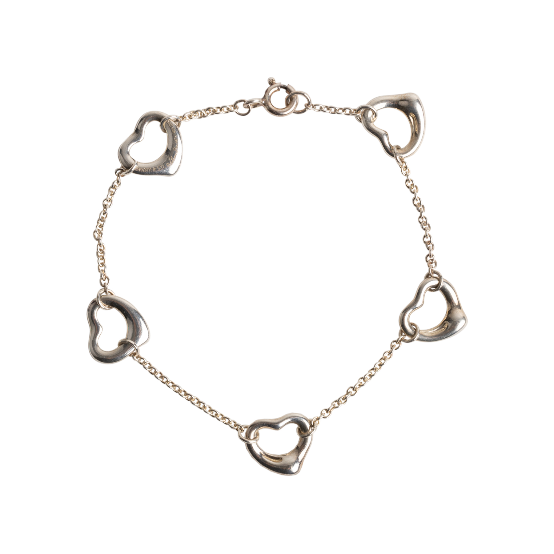 34e604ff4 Authentic Second Hand Tiffany & Co Open Heart Bracelet (PSS-668-00014) -  THE FIFTH COLLECTION