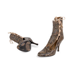 Bally python lace side boots 2?1560394186