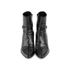 French 65 Buckle Boots