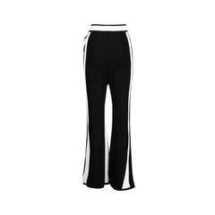 Balmain side stripe knit trousers 2?1560486498
