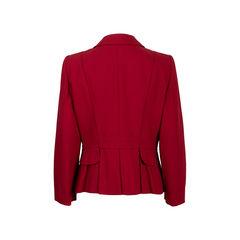 Armani collezioni red blazer 2?1560486720