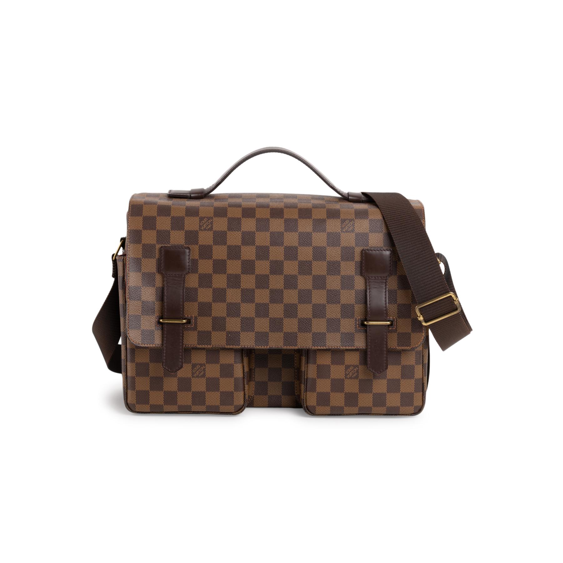 4a789560c11 Damier Ebene Broadway Messenger Bag