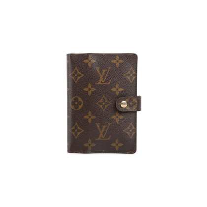 Authentic Second Hand Louis Vuitton Small Ring Agenda Cover (PSS-681-00001)