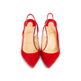 Authentic Second Hand Christian Louboutin Clare Suede Slingback Pumps (PSS-681-00003) - Thumbnail 0