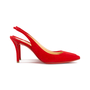 Authentic Second Hand Christian Louboutin Clare Suede Slingback Pumps (PSS-681-00003) - Thumbnail 4