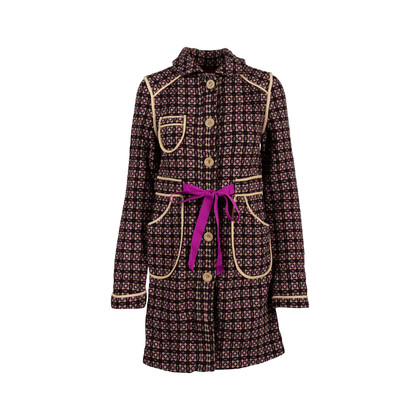 5ffa7159f23 Authentic Second Hand Cacharel Wool Embroidered Coat (PSS-669-00006 ...