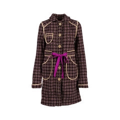 Wool Embroidered Coat