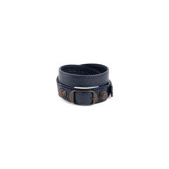 Arena Double Tour Leather Bracelet