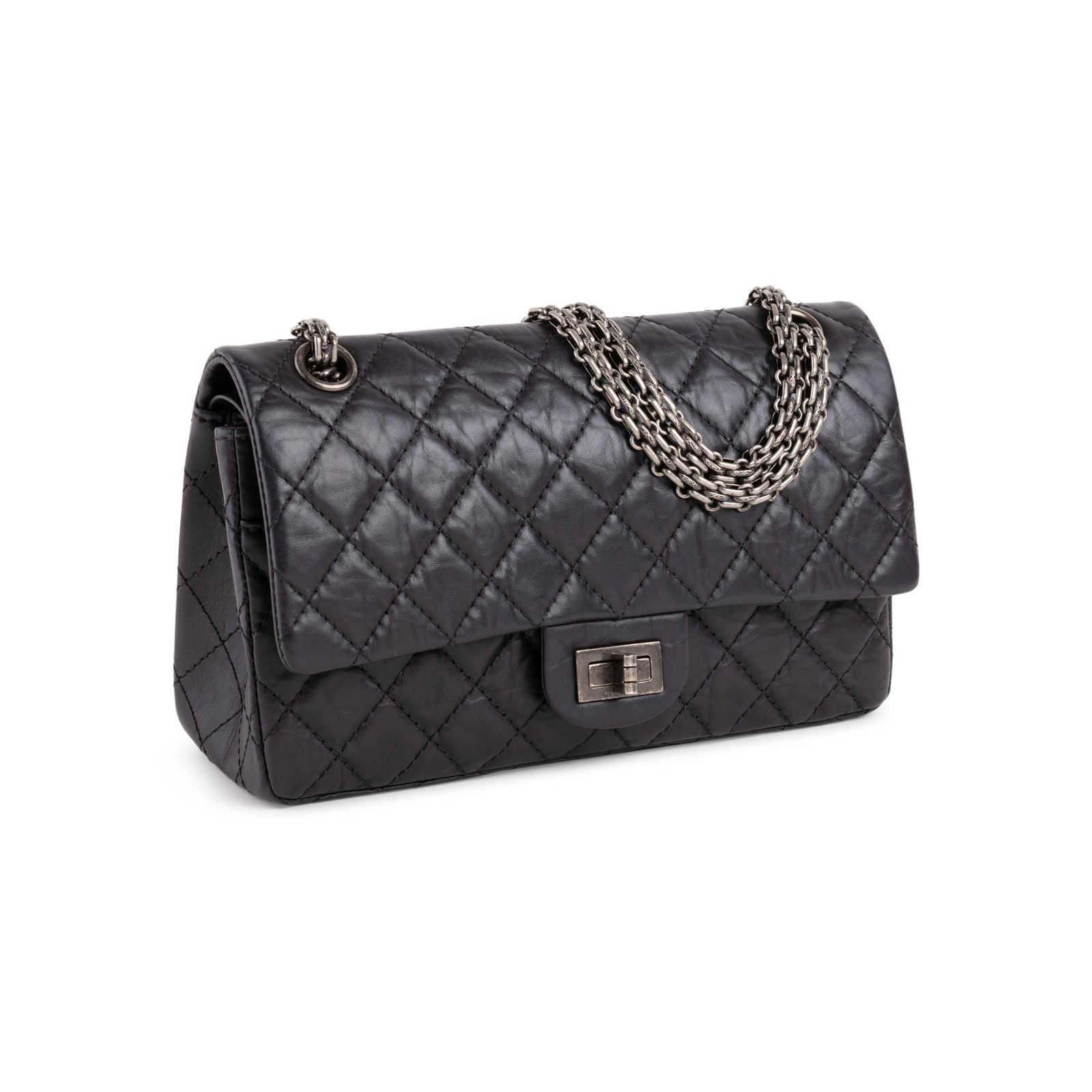 9827bfdbf ... Authentic Second Hand Chanel Reissue 2.55 Handbag (PSS-680-00011) -  Thumbnail ...