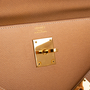 Authentic Vintage Hermès Courchevel Kelly 32 Sellier (PSS-441-00046) - Thumbnail 1
