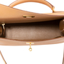 Authentic Vintage Hermès Courchevel Kelly 32 Sellier (PSS-441-00046) - Thumbnail 4