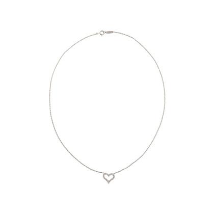 Authentic Second Hand Tiffany & Co Mini Heart Pendant (PSS-680-00006)