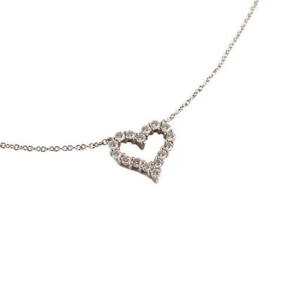 Authentic Second Hand Tiffany & Co Mini Heart Pendant (PSS-680-00006)