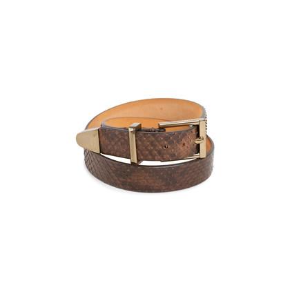 Authentic Second Hand Barbara Bui Python Wrap Bracelet (PSS-676-00030)