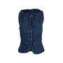 Authentic Second Hand Vivienne Westwood Anglomania Pinstriped Vest Top (PSS-676-00020) - Thumbnail 0