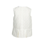 Authentic Second Hand Comme Moi White Lace Top (PSS-414-00033) - Thumbnail 1