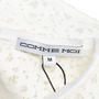 Authentic Second Hand Comme Moi White Lace Top (PSS-414-00033) - Thumbnail 2
