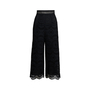 Authentic Second Hand Zimmermann Meridian Embroidered Crop Pant (PSS-414-00043) - Thumbnail 0