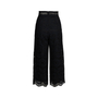 Authentic Second Hand Zimmermann Meridian Embroidered Crop Pant (PSS-414-00043) - Thumbnail 1