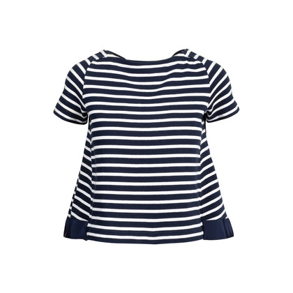 Authentic Second Hand Sacai Striped Top (PSS-414-00046)