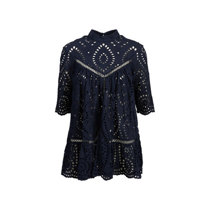 Authentic Second Hand Zimmermann Harlequin Broderie Panel Smock (PSS-414-00052)