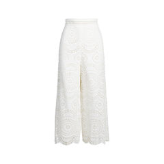 Meridian Embroidered Crop Pant