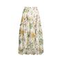 Authentic Second Hand Sretsis by Pim Sukhahuta Printed High Low Skirt (PSS-414-00070) - Thumbnail 0