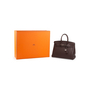 Authentic Second Hand Hermès Ebene Togo Birkin 35 (PSS-697-00002) - Thumbnail 9