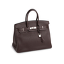 Authentic Second Hand Hermès Ebene Togo Birkin 35 (PSS-697-00002) - Thumbnail 1