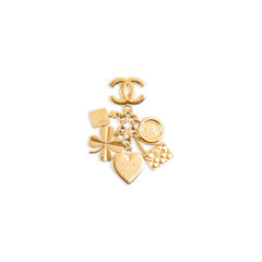 Iconic Charms Brooch