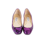 Authentic Second Hand Jimmy Choo Faux Snakeskin Flats (PSS-552-00047) - Thumbnail 0