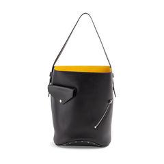 Bucket Biker Shoulder Bag
