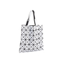 Authentic Second Hand Issey Miyake White Lucent Basic Tote (PSS-697-00001) - Thumbnail 1