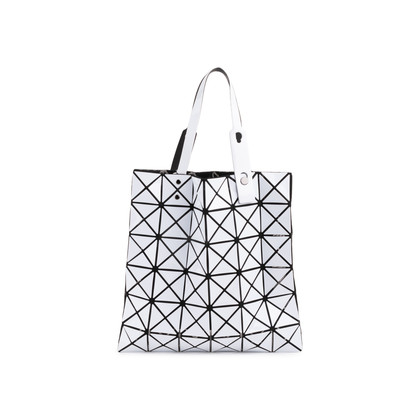Authentic Second Hand Issey Miyake White Lucent Basic Tote (PSS-697-00001)