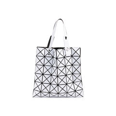 White Lucent Basic Tote