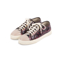 Authentic Second Hand Chanel Burgundy Grey Python Leather Sneakers (PSS-688-00004) - Thumbnail 1