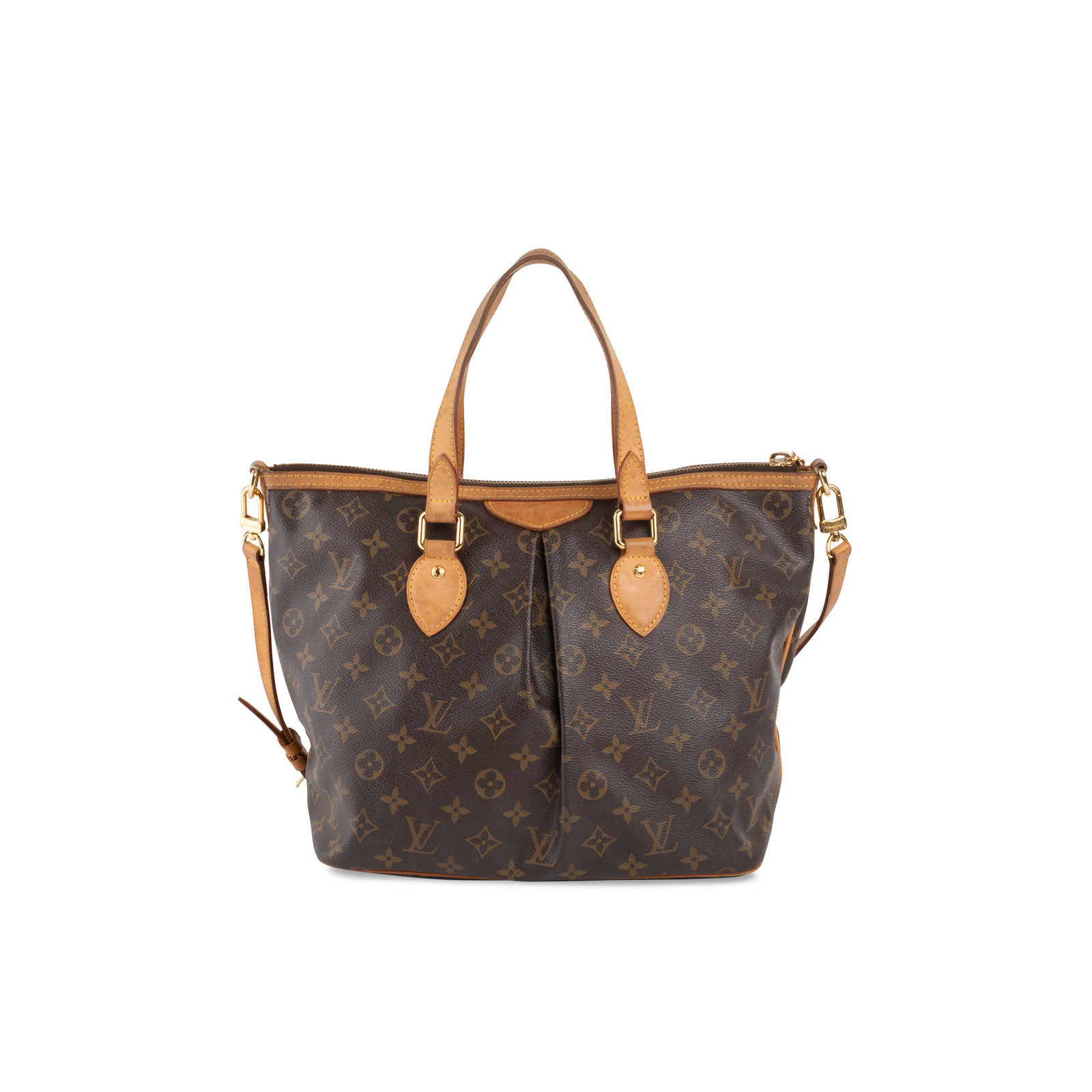 9ae0a91ff ... Authentic Second Hand Louis Vuitton Palermo PM Bag (PSS-675-00002) ...