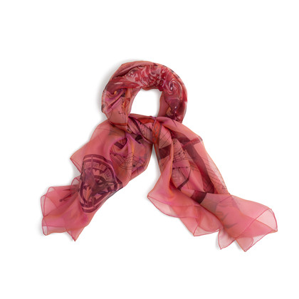 Authentic Second Hand Hermès Quintessence GM Scarf (PSS-691-00006)