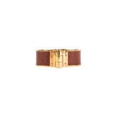 Lizard Hinged Bracelet
