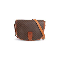 Macadam Pattern Flap Bag