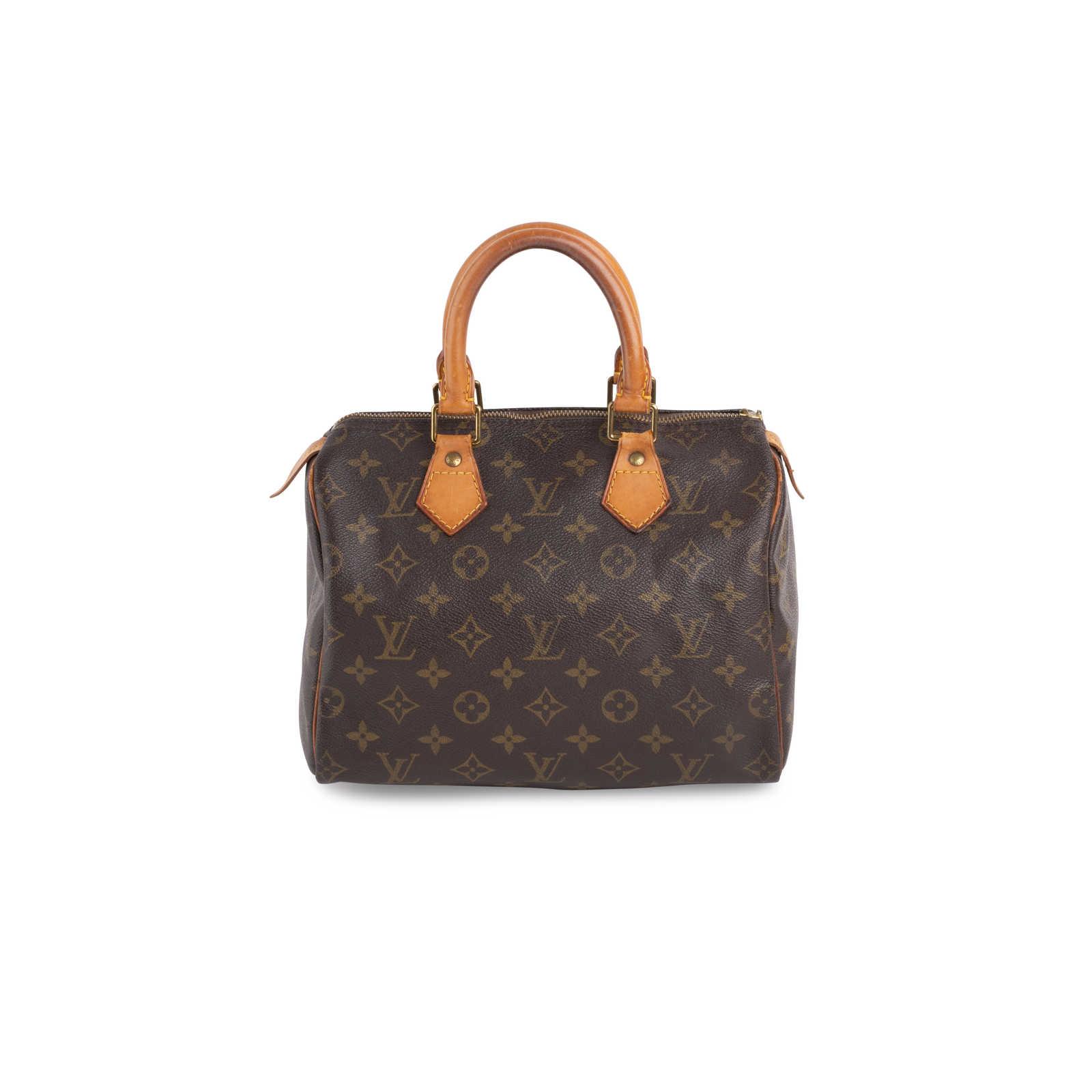b7fba0831a0 Authentic Second Hand Louis Vuitton Monogram Canvas Speedy 25 (PSS ...