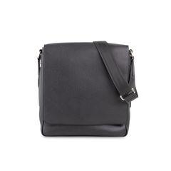 Roman Messenger Bag Taiga Leather