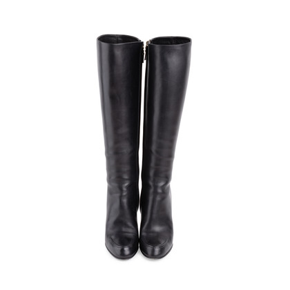 Authentic Second Hand Louis Vuitton Knee High Stiletto Boots (PSS-685-00010)