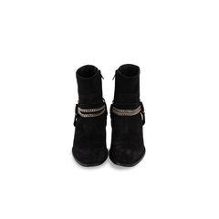Wyatt 40 Chain Harness Boots