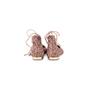 Authentic Second Hand Aquazzura Christy Pink Glitter Flats (PSS-697-00006) - Thumbnail 3