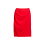 Authentic Second Hand Valentino Red Pencil Skirt (PSS-346-00038) - Thumbnail 0