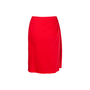 Authentic Second Hand Valentino Red Pencil Skirt (PSS-346-00038) - Thumbnail 1