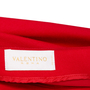 Authentic Second Hand Valentino Red Pencil Skirt (PSS-346-00038) - Thumbnail 2