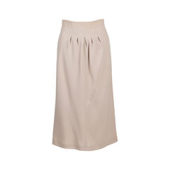 A-Line Skirt with Pleated Details